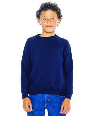 Youth California Fleece Raglan Sweatshirt Navy