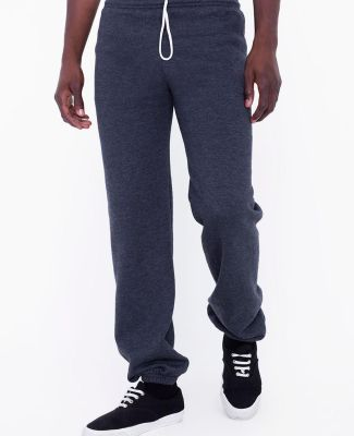 American Apparel SAF400W Unisex Flex Fleece Sweatpants Dark Heather Grey