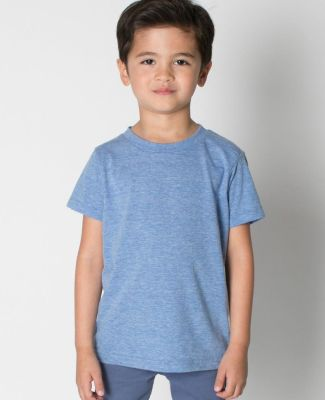 American Apparel TR101W Toddler Triblend Short-Sleeve T-Shirt Athletic Blue