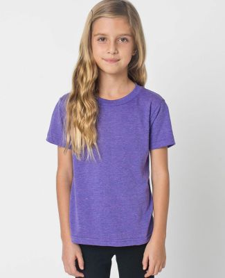 American Apparel TR101W Toddler Triblend Short-Sleeve T-Shirt Tri Orchid