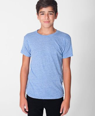 American Apparel TR201W Youth Triblend Short-Sleeve T-Shirt Athletic Blue