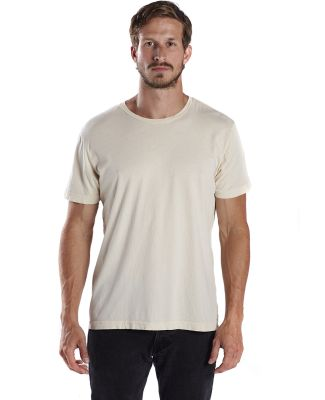 US Blanks US2400G Unisex 3.8 oz. Short-Sleeve Garment-Dyed Crewneck CREAM
