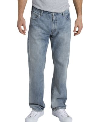 Dickies Workwear XD740 Men's X-Series Relaxed Fit Straight-Leg 5-Pocket Denim Jean Pant AGED LT INDGO _30