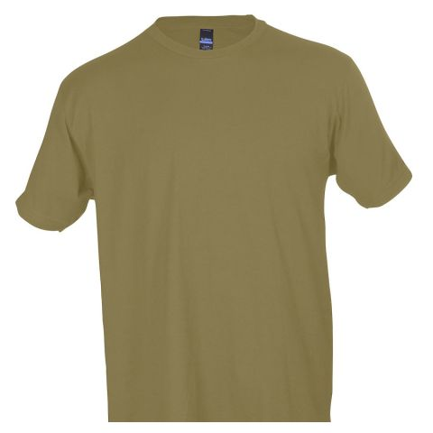 0202 Tultex Unisex Tee with a Tear-Away Tag  Sand (Discontinued)