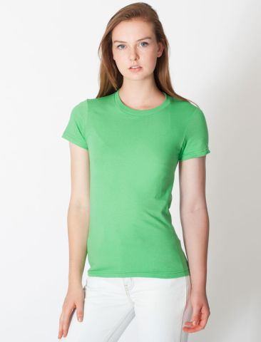 2102 American Apparel Girly Fine Jersey Tee