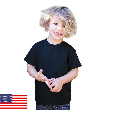 Toddler Organic Cotton Crewneck T-Shirt