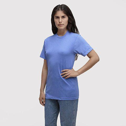Los Angeles Apparel TR01 Tri-Blend Tee Athletic Blue