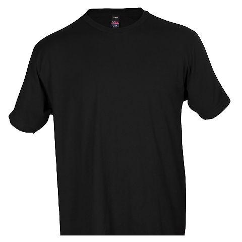 0290TC Tultex Unisex Ring-Spun Cotton Tee 290 Black