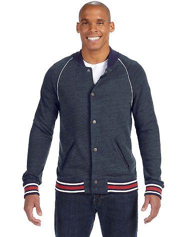 09589EC alternative Men's Baseball Jacket Eco True Navy