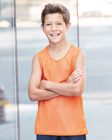 2529 Badger Youth Mesh Reversible Tank