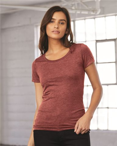 BELLA 8413 Womens Tri-blend T-shirt