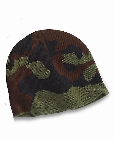 301 3820 USA Made Camouflage Knit Beanie