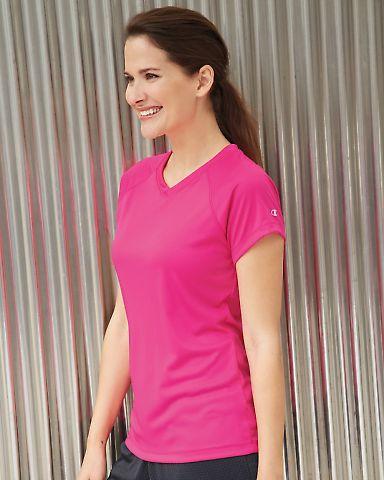 CW23 Champion Ladies' 4 oz. Wicking T-Shirt