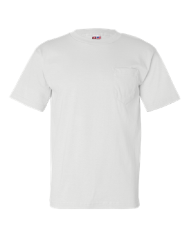 7100 Bayside USA-Made Men/'s Short Sleeve T-Shirt with a Pocket S-4XL
