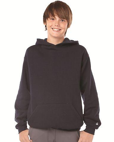 2254 Badger Youth Hooded Sweatshirt