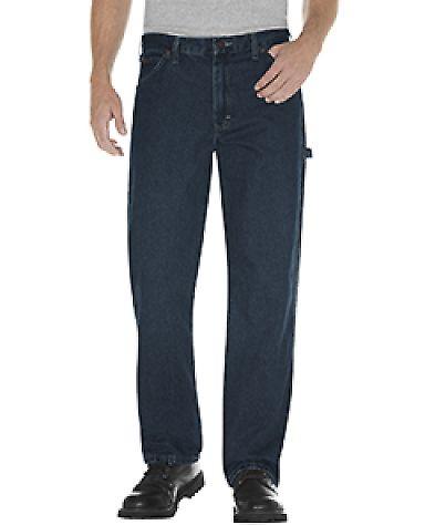 Dickies Workwear 19294 Unisex Relaxed Fit Stonewashed Carpenter Denim Jean Pant TNT HRT KHAKI _44