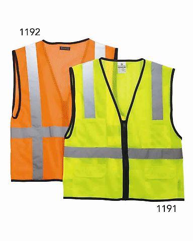 1191-1192 ML Kishigo - Economy Six Pocket Mesh Vest