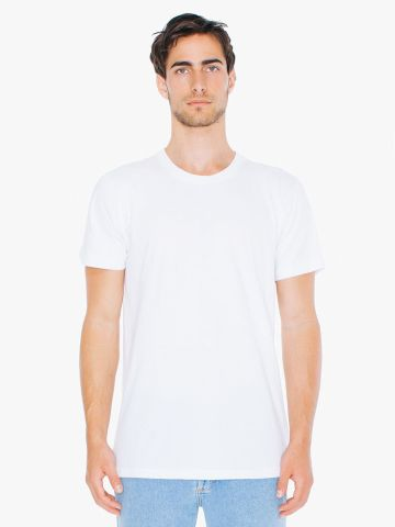 American Apparel 2001TLW Unisex Tall Fine Jersey Short-Sleeve T-Shirt White