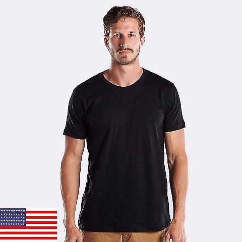 US Blanks US200OR Men's 5.8 oz. Short-Sleeve Organic Crewneck