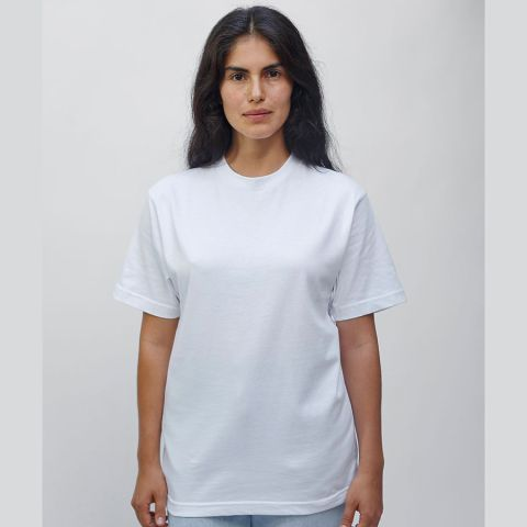 Los Angeles Apparel 2017 Combed Cotton Tee White