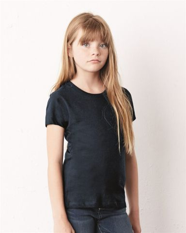 BELLA+CANVAS 9002 Girls Crew Neck T-shirt