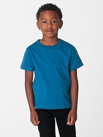 American Apparel 2105ORW Toddler Organic Fine Jersey Short-Sleeve T-Shirt GALAXY