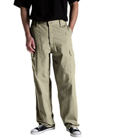Dickies Workwear 23214 8.5 oz. Loose Fit Cargo Work Pant KHAKI _42