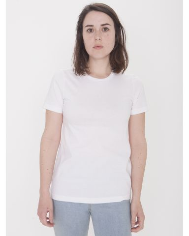 American Apparel 23215OW Ladies' Organic Fine Jersey Classic T-Shirt White