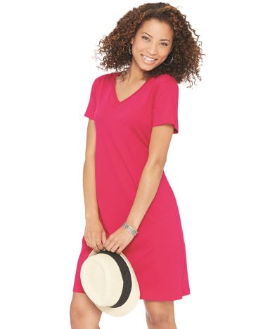 3522 LA T Ladies T-Shirt Dress