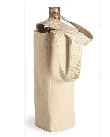 1725 Liberty Bags - Single Bottle Wine Tote