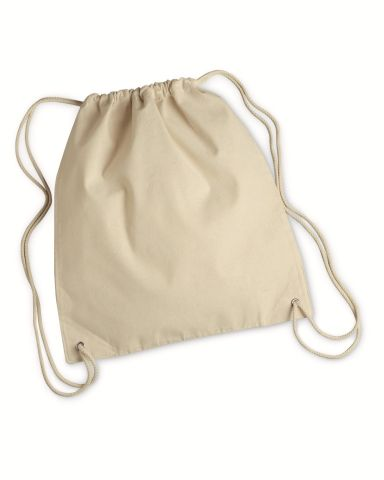 8875 Liberty Bags - Cotton Canvas Drawstring Backpack