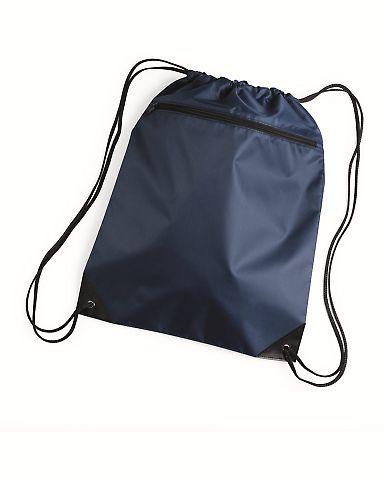 8888 Liberty Bags - Denier Nylon Zippered Drawstring Backpack