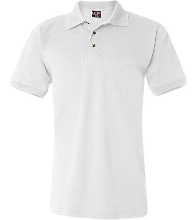 1000 Bayside Adult Cotton Pique Polo White