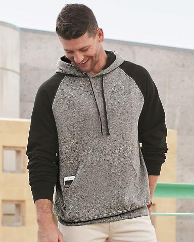 96CR JERZEES - Nublend® Colorblocked Hooded Pullover Sweatshirt