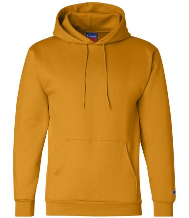 S700 Champion Logo 50/50 Pullover Hoodie Gold