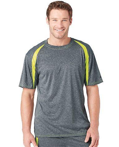 4340 Badger Badger - Fusion Colorblock Short Sleeve T-Shirt - 4340