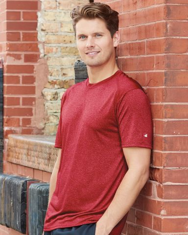 Badger 4320 Pro Heather Performance T-Shirt