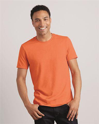 64000 Gildan Soft Style 30 Singles Ring-spun T-shirt G640