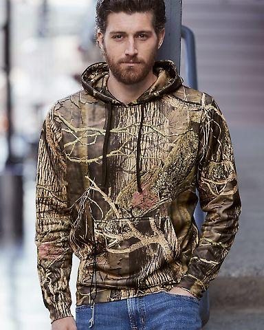 8615 J. America Tailgate Hooded Fleece Pullover