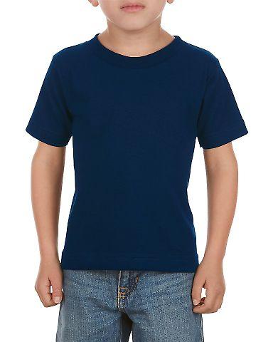 3380 ALSTYLE Toddler Short Sleeve Tee Navy