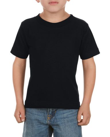 3380 ALSTYLE Toddler Short Sleeve Tee Black