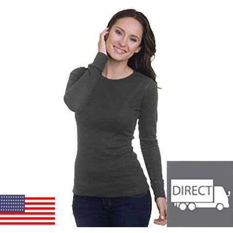 301 4812 Women's Long Sleeve Thermal Charcoal