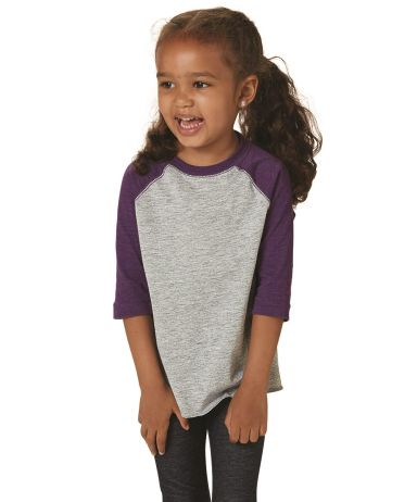 3330 Rabbit Skins Toddler Baseball Raglan