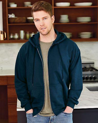F280 Hanes® PrintPro®XP™ Ultimate Cotton® Full Zip Hooded Sweatshirt