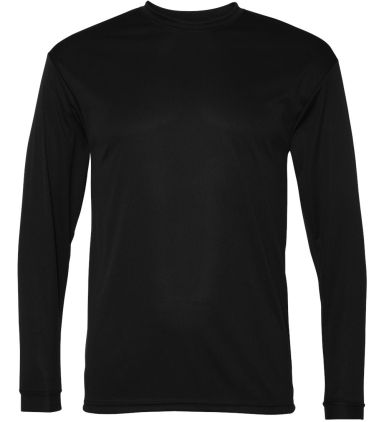 5104 C2 Sport Adult Performance Long-Sleeve Tee Black