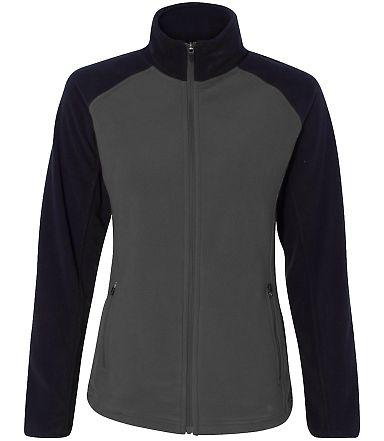 Colorado Clothing 7206 Women's Steamboat Microfleece Jacket City Grey/ Black