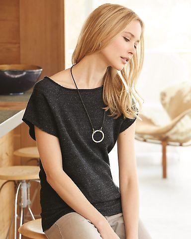 Alternative Apparel 2823 Ladies Short Sleeve Pullover