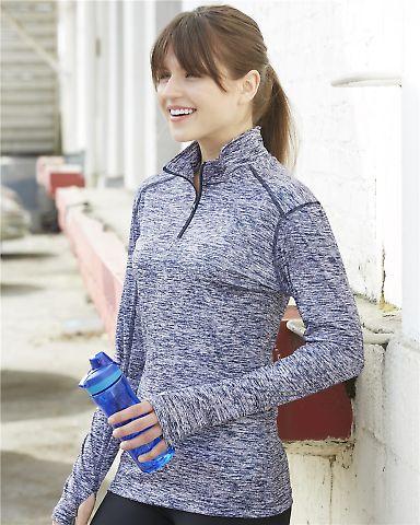 Badger Sportswear 4193 Blend Women's Quarter-Zip Pullover