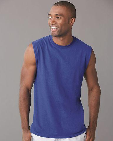Jerzees 29SR Dri-Power Active Sleeveless 50/50 T-Shirt
