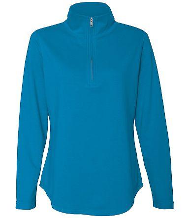 3764 LAT - Ladies' French Terry Quarter-Zip Pullover COBALT